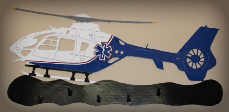 Air Methods EC135 Coat Rack
