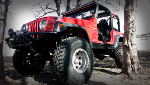 Jeep front bumper and step sides