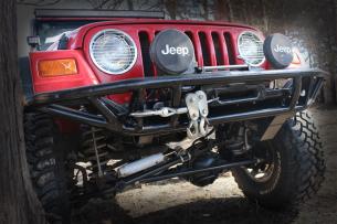 Jeep front bumper