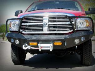 Dodge Ram front bumper front view