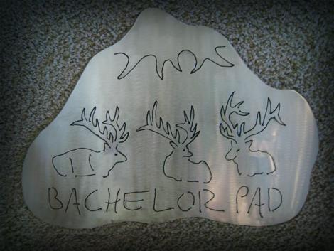 Bachelor Pad elk silhouette